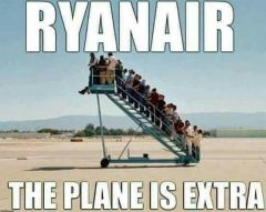 Plane is extra