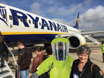 Boarding Ryanair